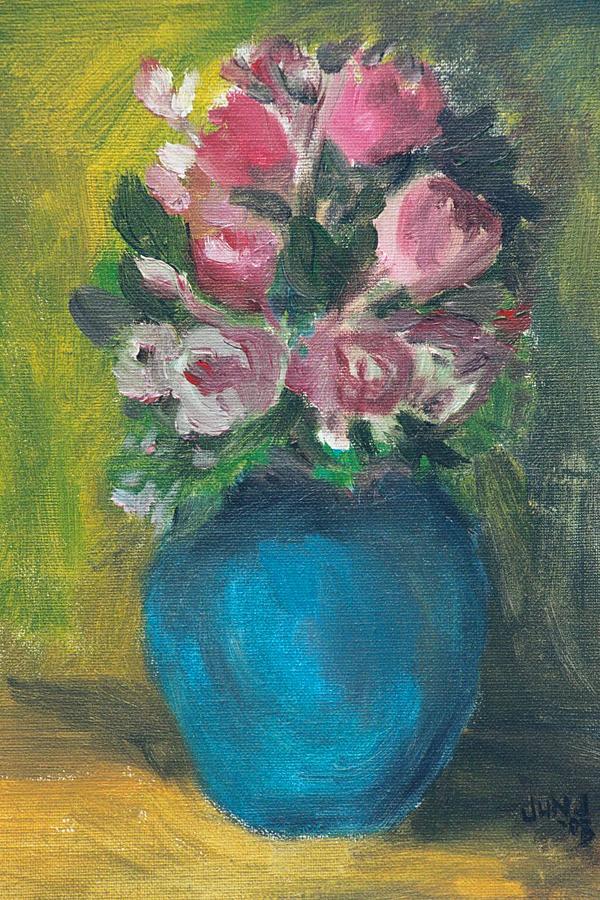 Roses Painting - Roses by Jun Jamosmos