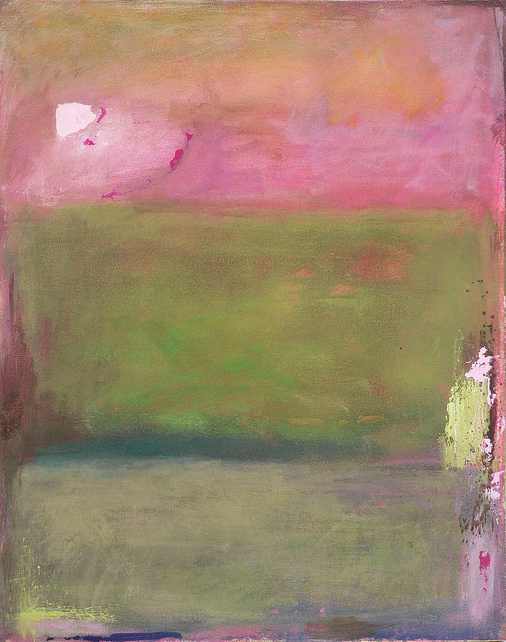 Abstract Painting - Roses Past by Jacquie Gouveia