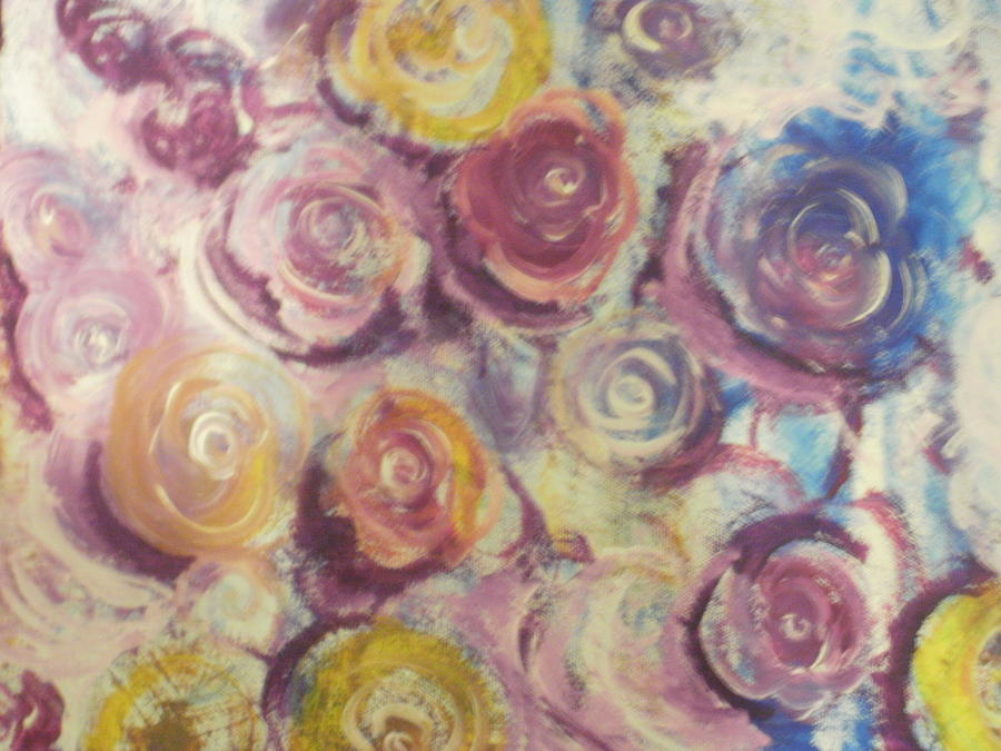 Flowers Painting - Rosie by Jennifer Henson