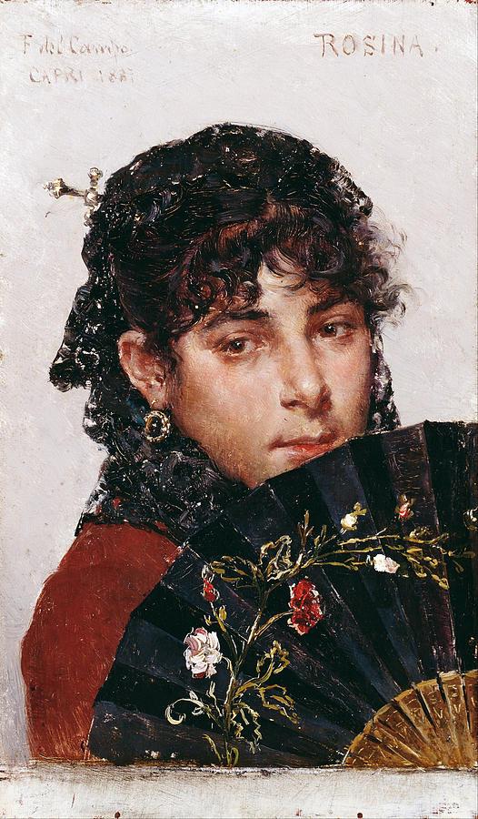 Rosina Painting - Rosina by Federico del Campo