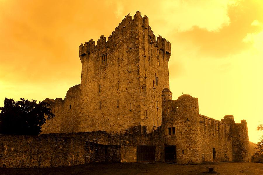 Ireland Photograph - Ross Castle by Aidan Moran
