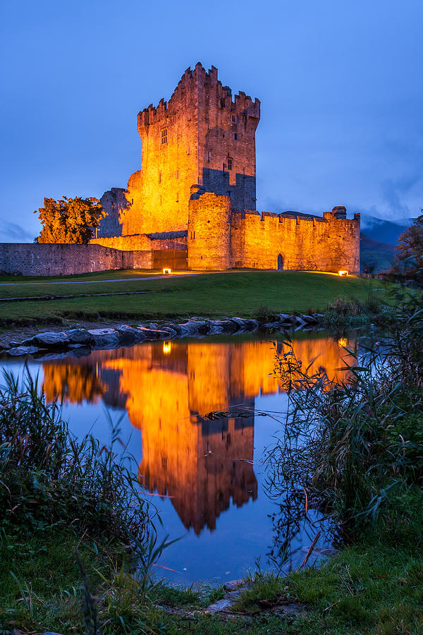 Ross Castle Photograph - Ross Castle Killarney Ireland by Pierre Leclerc Photography