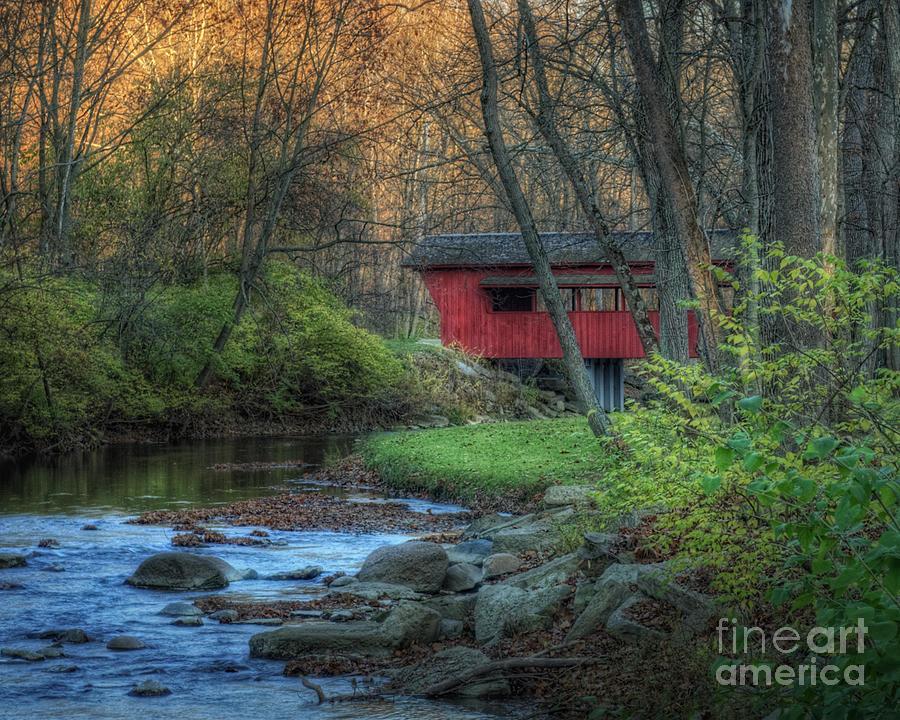 Ross Covered Bridge by Pamela Baker
