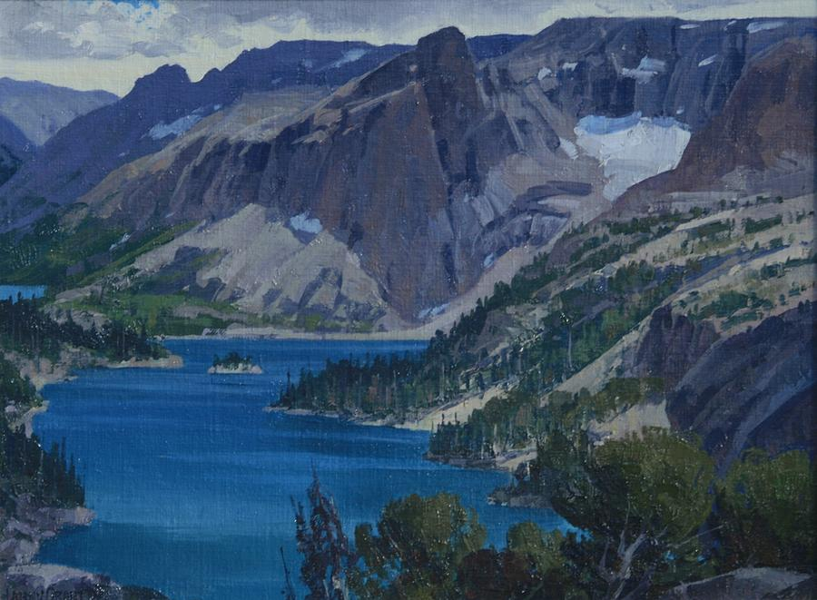 Landscape Painting - Ross Lake by Lanny Grant