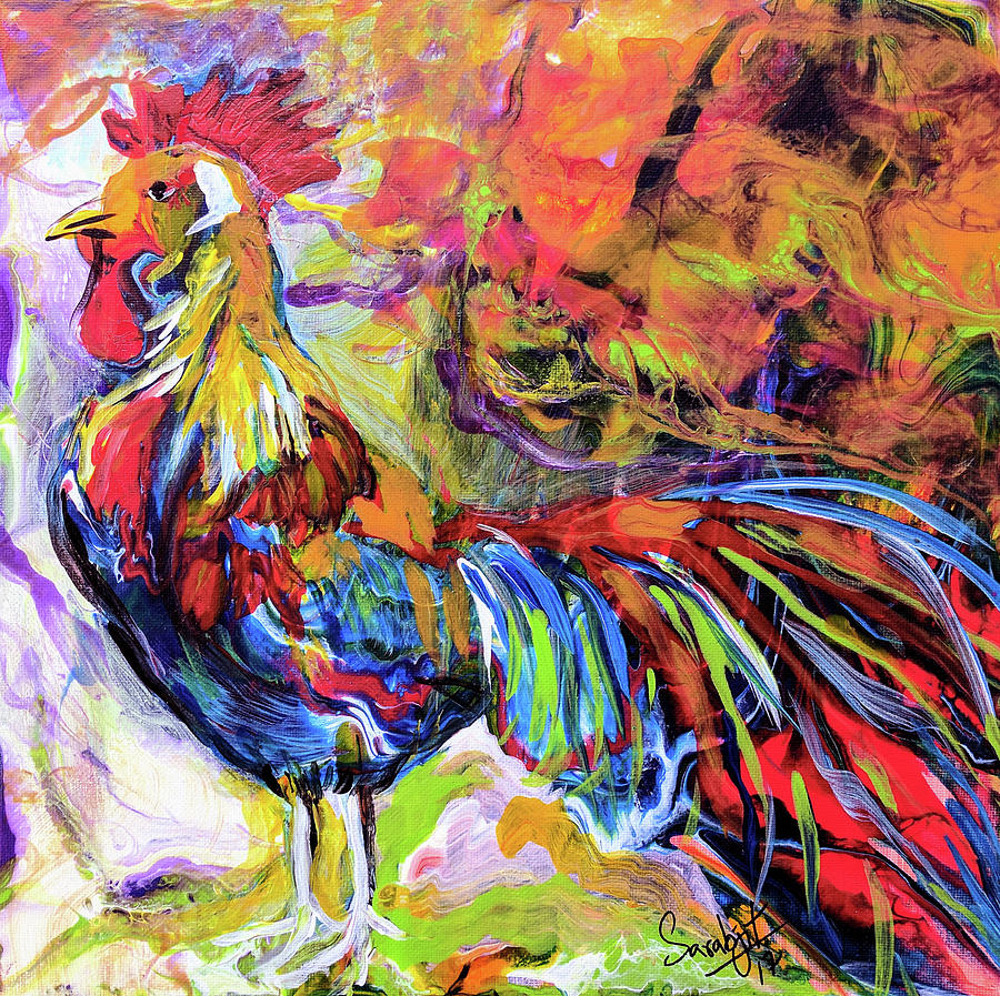 Rooster by Sarabjit Singh