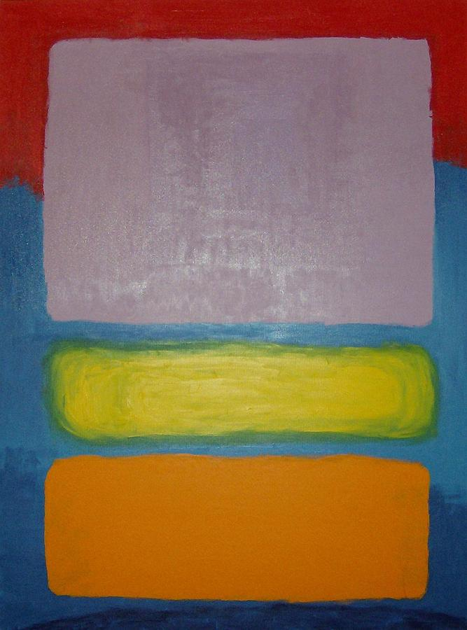 Mark Painting - Rothko Ripoff by Mike Boast