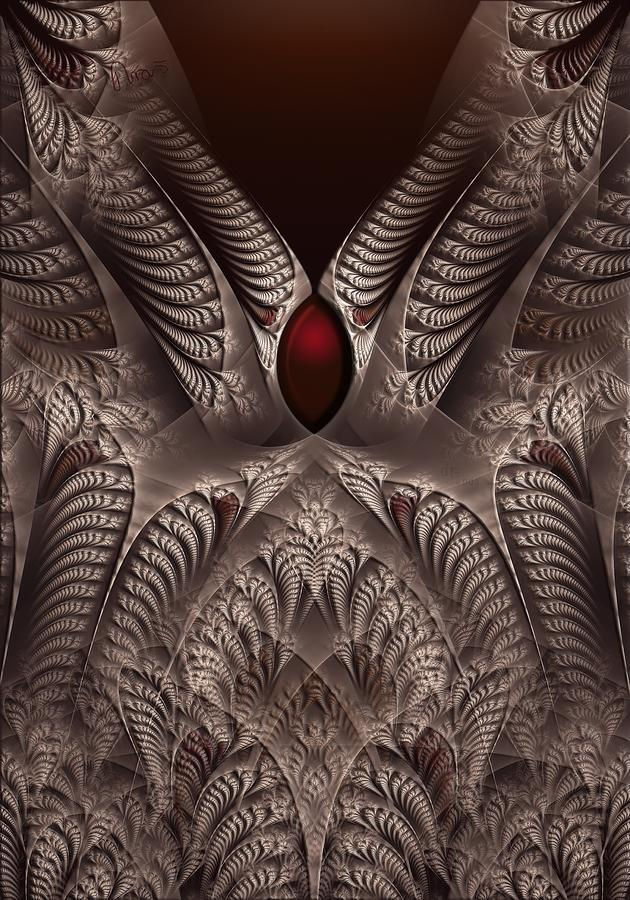 Fractal Digital Art - rotl_01 Lord Of the Soil by Drasko Regul