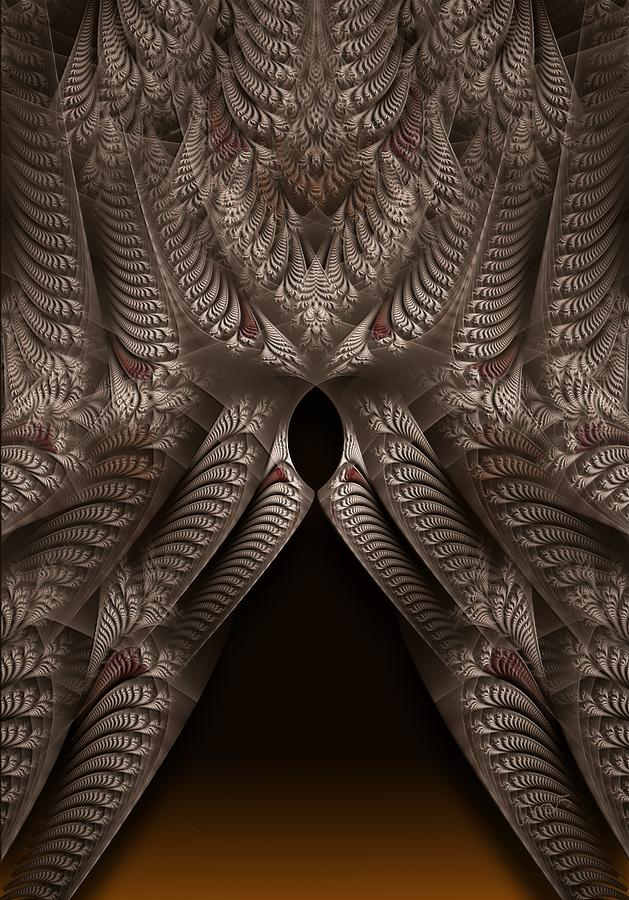 Fractal Digital Art - rotl_07a Lady Of the Choice 1 by Drasko Regul