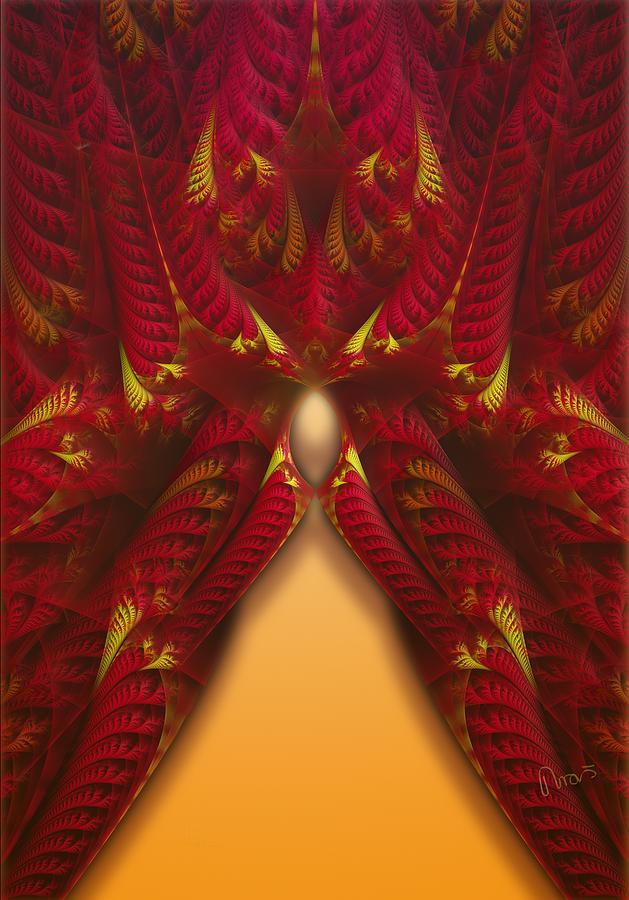 Fractal Digital Art - rotl_07c Lady Of the Choice 3 by Drasko Regul