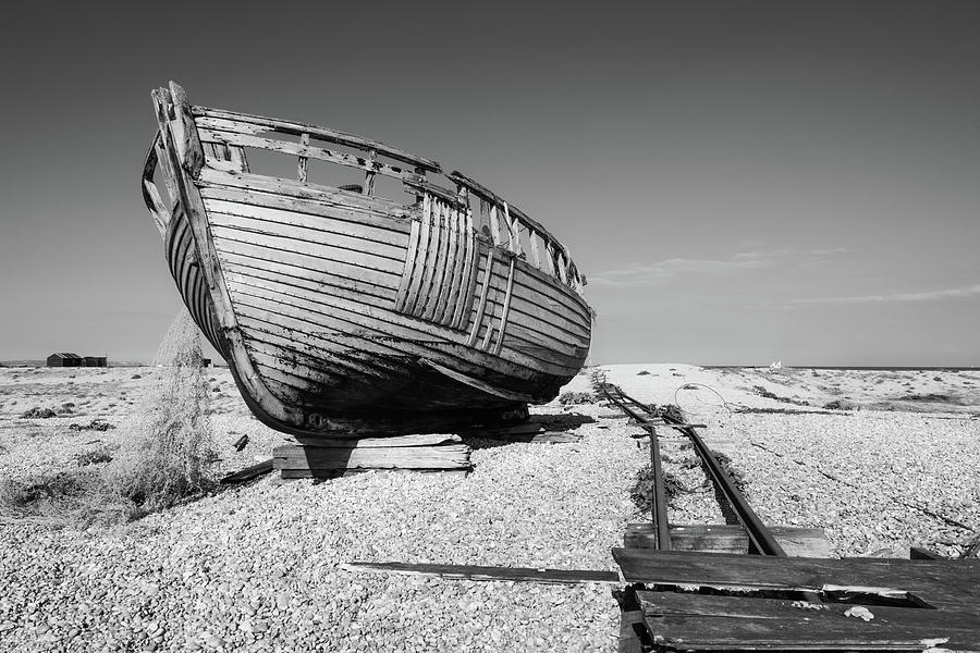 Rotting  Fishing Boat and Nets 2 by Roy Pedersen