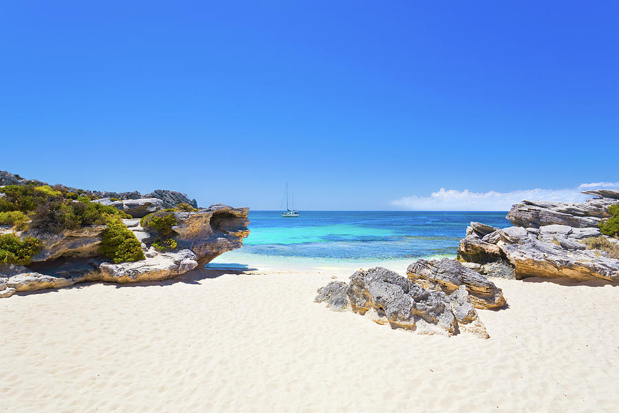 Rotto Paradise, Little Parakeet Bay, Rottnest Island by Dave Catley