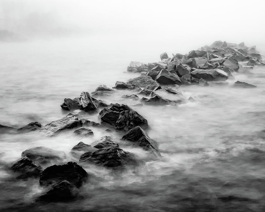 Duluth Photograph - Rough Superior by David Wynia