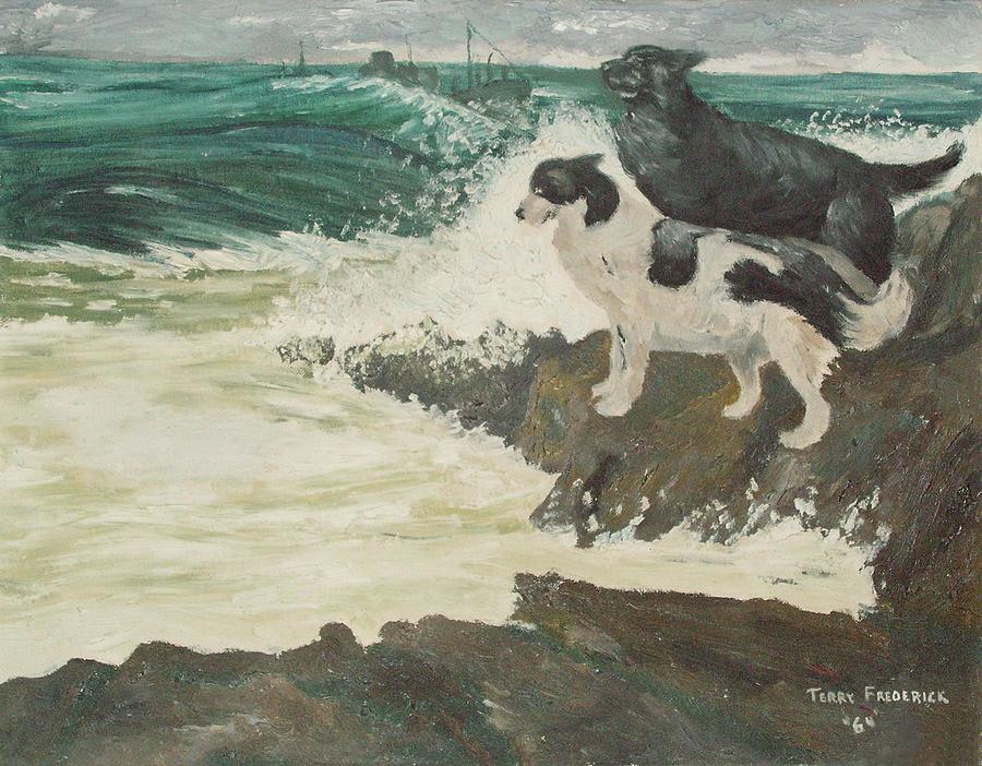 RoughSea by Terry Frederick