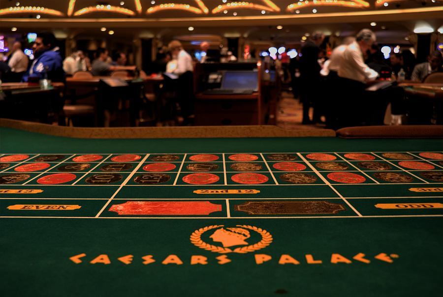 Las Vegas Photograph - Roulette by Patrick  Flynn