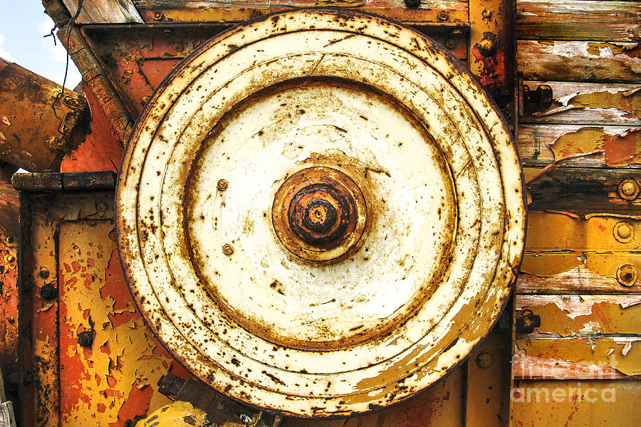 Round Photograph - Round And Around And by Kim Lessel