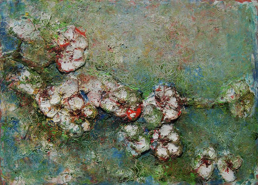 Clay Painting - Round by Tatiana Ilieva