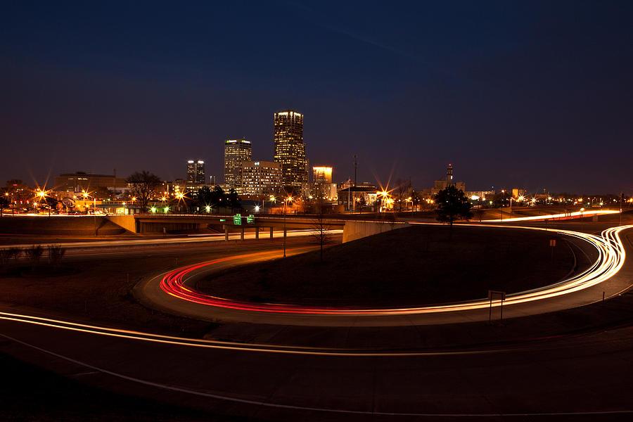 Arkansas Photograph - Round The Bend by Jonas Wingfield