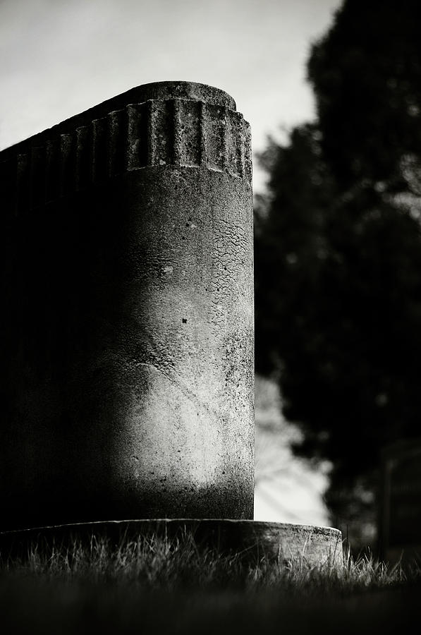 Graveyard Photograph - Rounded With A Sleep by Rebecca Sherman