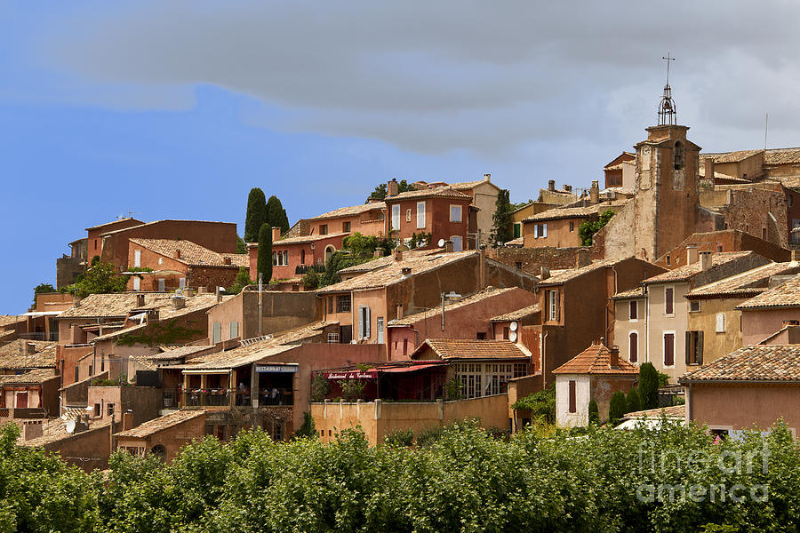 France Photograph - Rousillon by Stan and Anne Foster