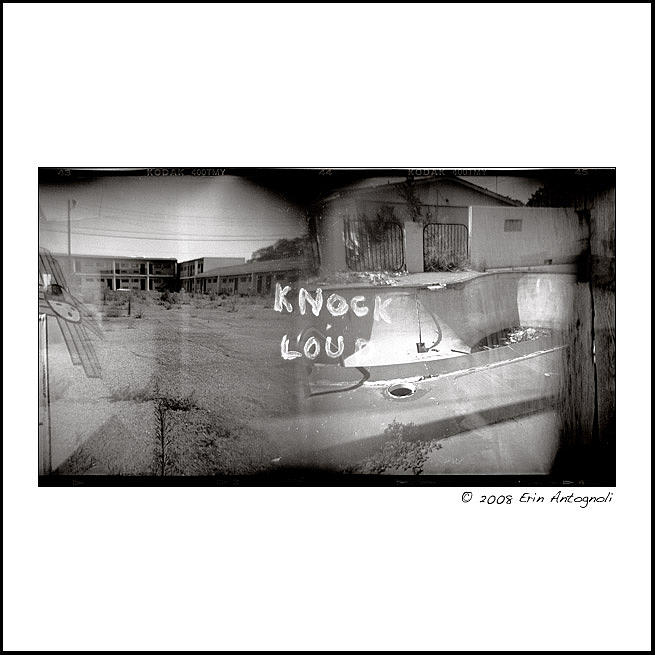 Route 66 Photograph - Route 66 - Knock Loud - Mclean Texas by Erin Antognoli