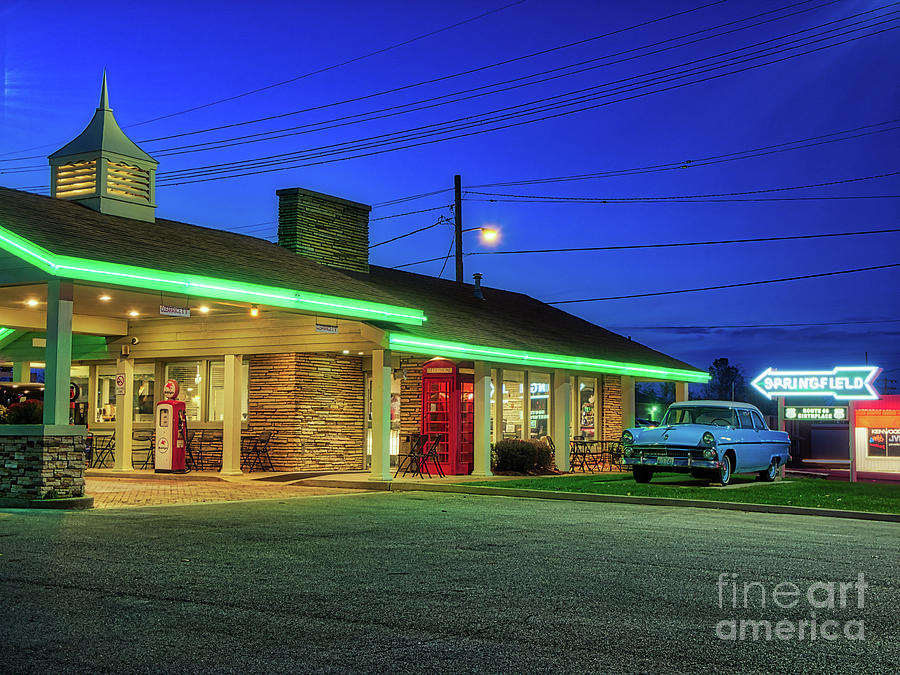 Route 66 Best Western by Phil Spitze