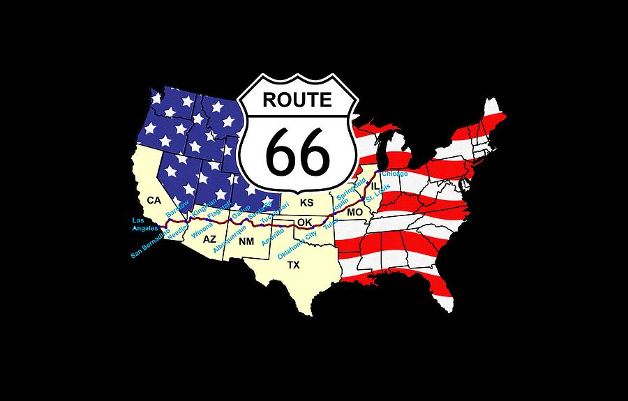 Route 66 by Carol and Mike Werner