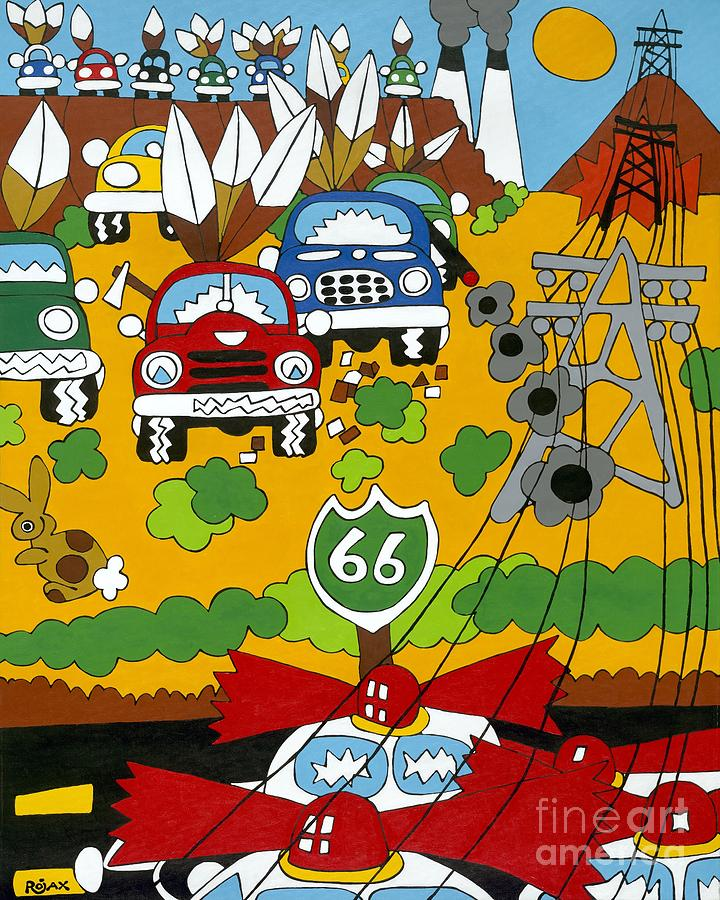 Route 66 by Rojax Art