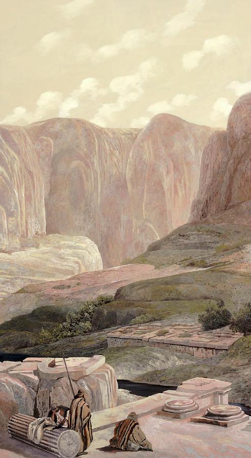 Rovine Nella Valle Painting