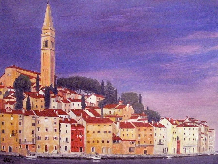 Church Painting - Rovinj by Anthony Meton