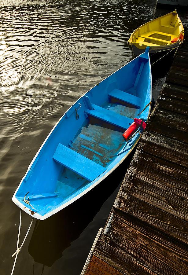 Row Boats Photograph - Row Boats by Dale Stillman