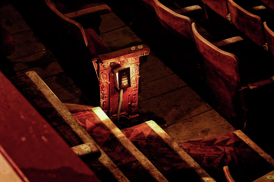 Canon Photograph - Row D, Seat 15 by John Hoey