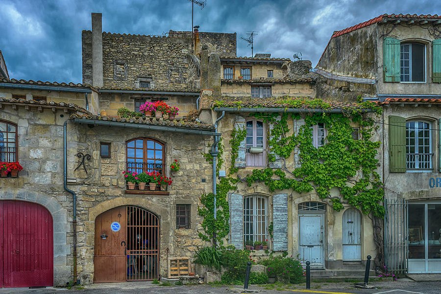 Row Houses Photograph - Row Houses Arles France_dsc5719_16_dsc5719_16 by Greg Kluempers