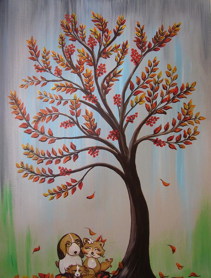 Rowan Tree by Mandy Joy