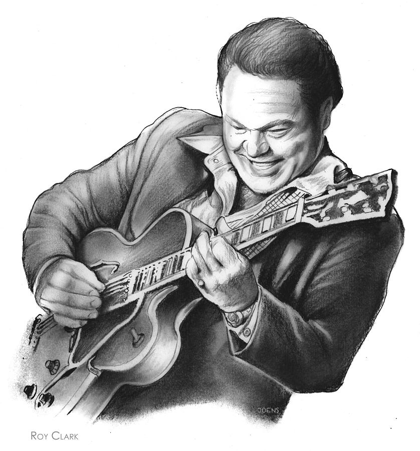Roy Clark Drawing