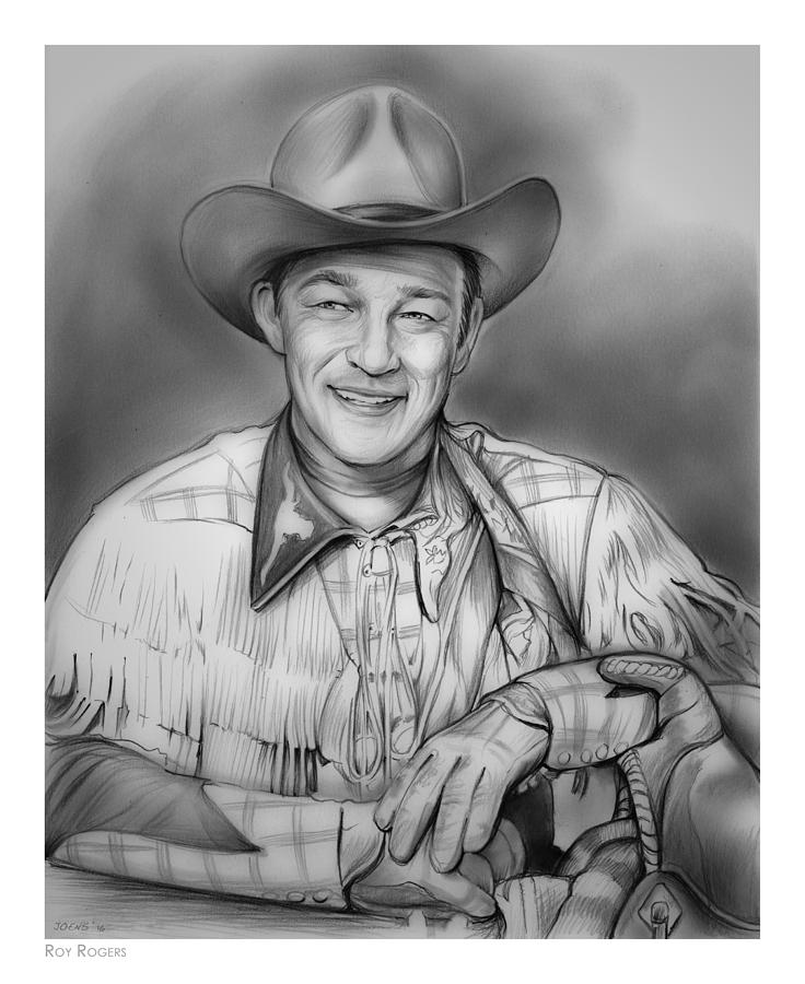 Roy Rogers Drawing