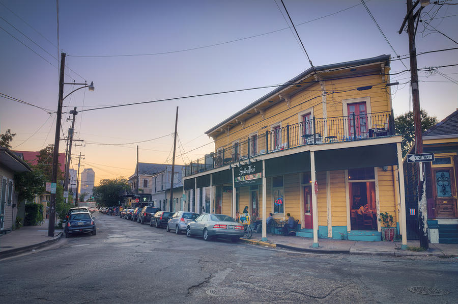 Royal Photograph - Royal And Touro Streets Sunset In The Marigny by Ray Devlin