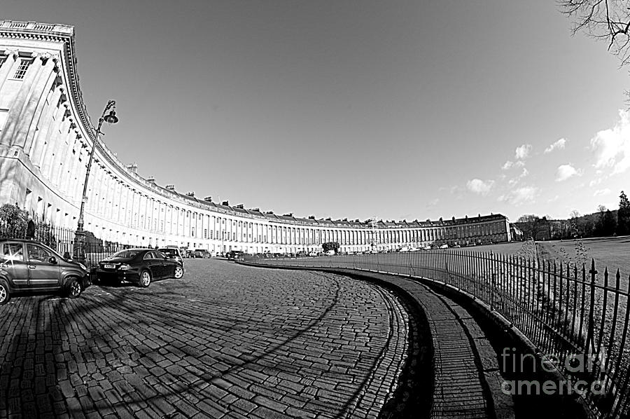 Royal Crescent Photograph - Royal Crescent by Andy Thompson