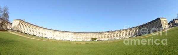 Royal Crescent Photograph - Royal Crescent, Bath by Andy Thompson