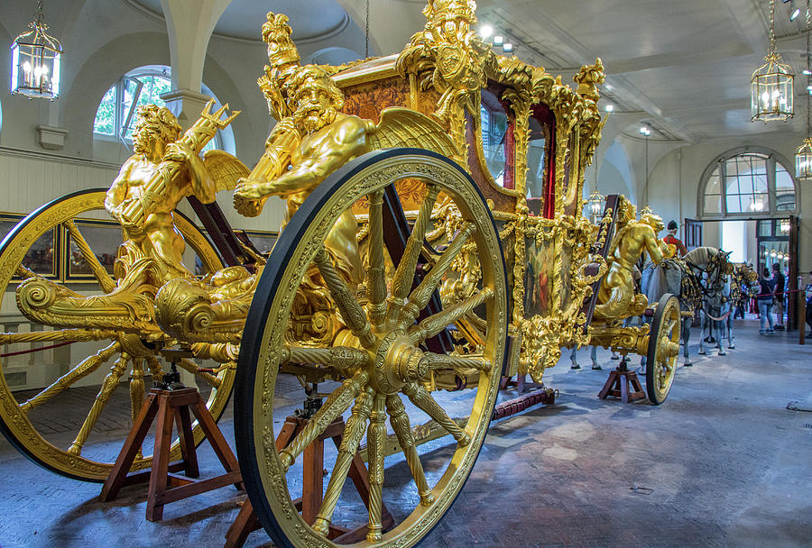 Royal Gold State Coach, England by Venetia Featherstone-Witty