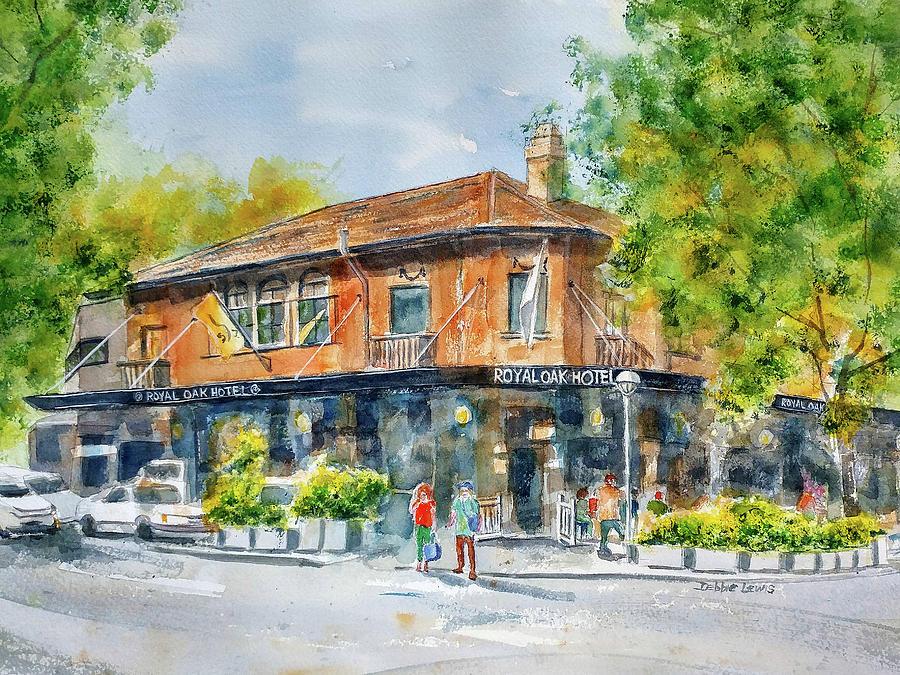 Royal Oak Hotel by Debbie Lewis