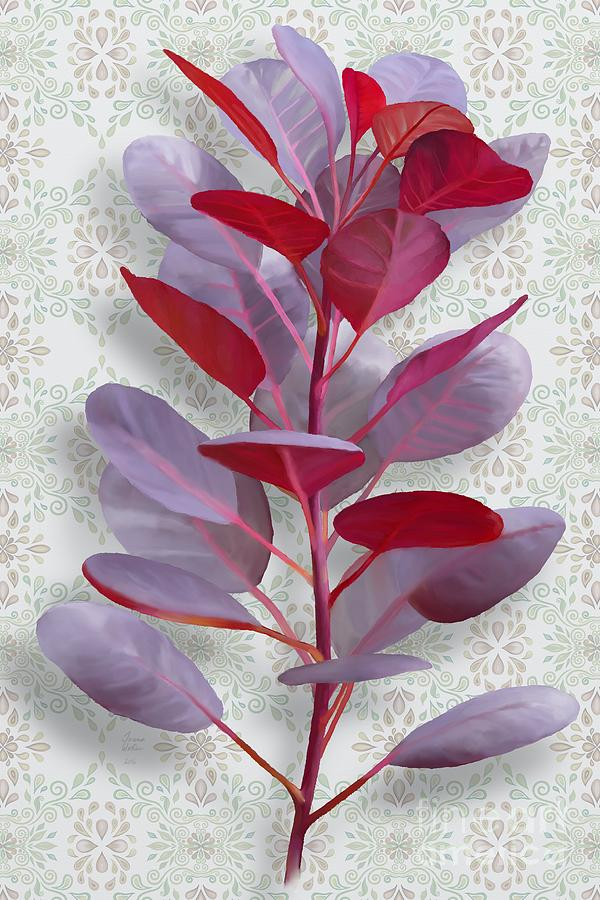 Cotinus Coggygria Painting - Royal Purple by Ivana Westin