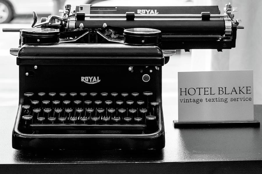 Royal typwriter by John McArthur