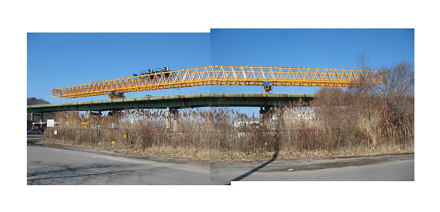 Rt 25a Bridge Photograph by Alan  Zindman