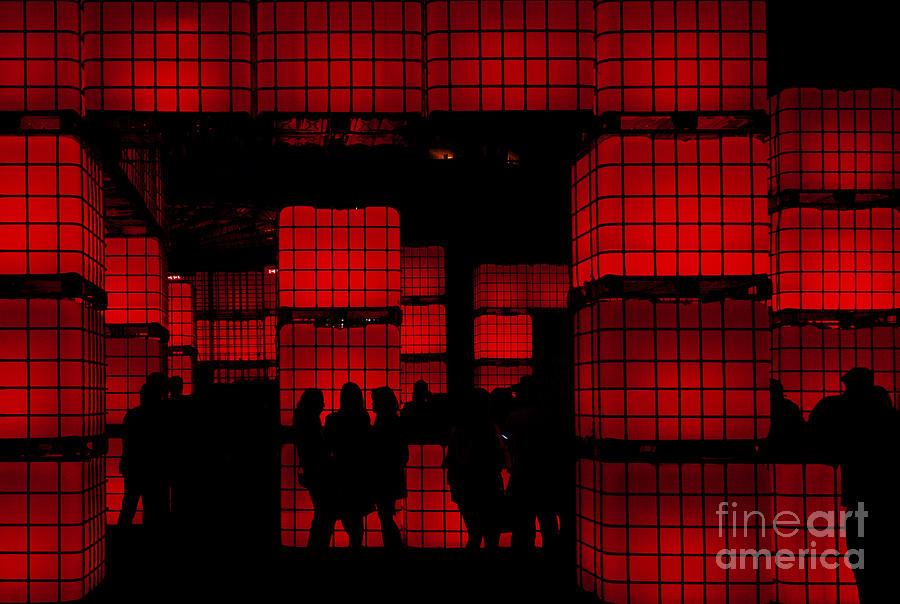 Red Photograph - Rubiks Dream by Andrew Paranavitana
