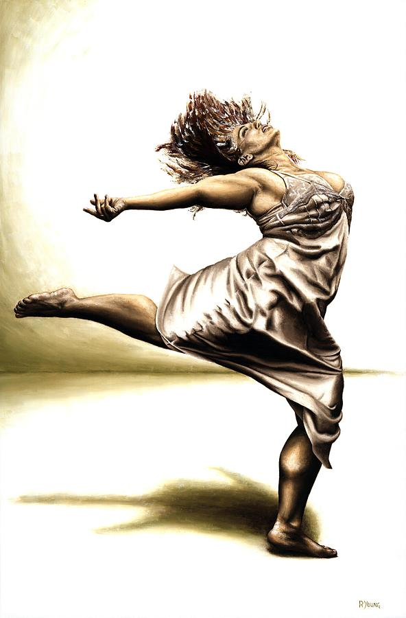 Rubins Painting - Rubinesque Dancer by Richard Young