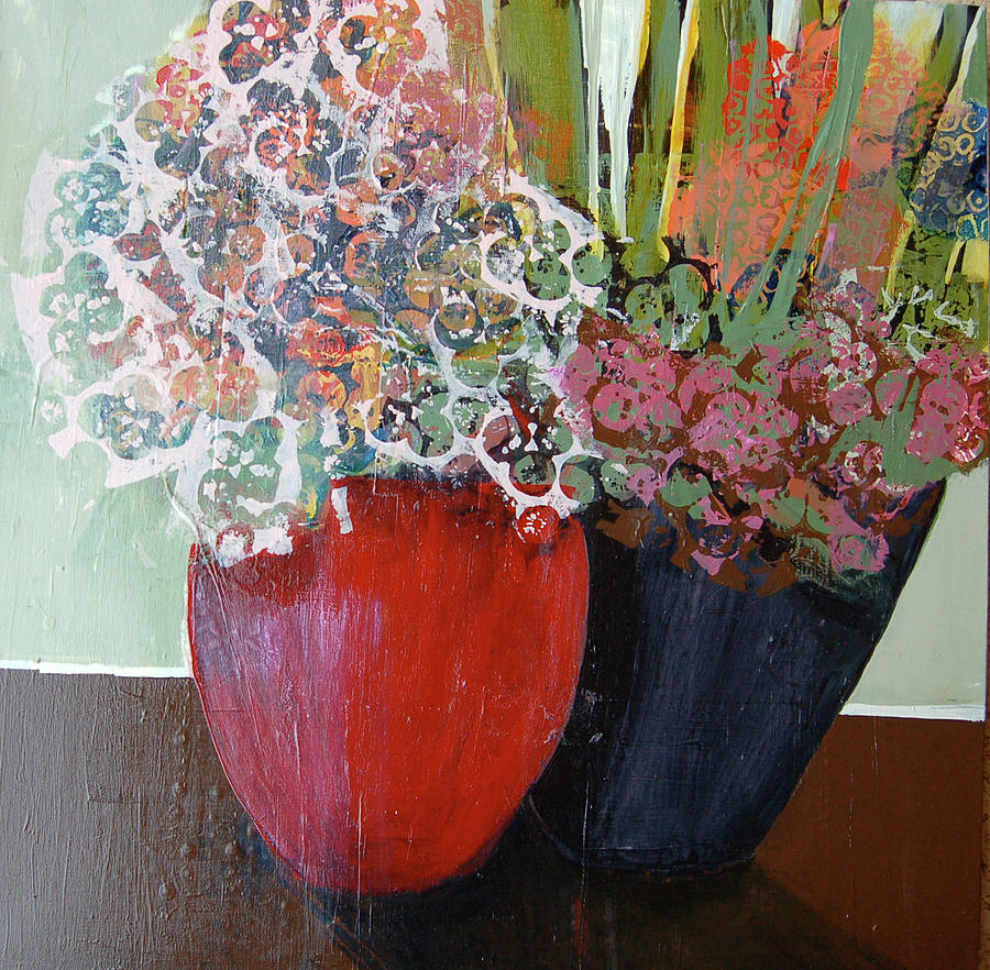 Painting Painting - Ruby by Leslie Bernsen