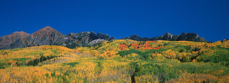 Colorado Photograph - Ruby Range Color Of Fall by Dusty Demerson