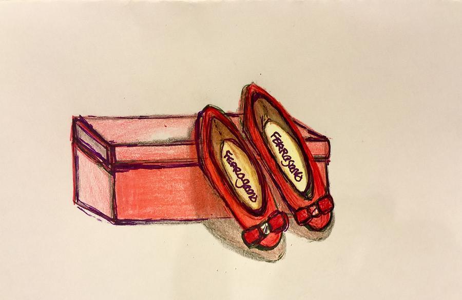 Ruby red slippers by Gigi Desmond