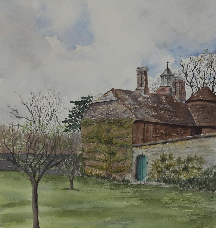 Batemans Painting - Rudyard Kiplings Batemans by Debbie Homewood