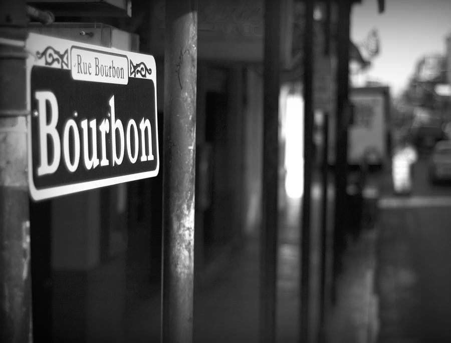 New Orleans Photograph - Rue Bourbon by John Gusky